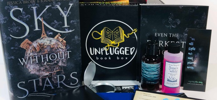 Unplugged Book Box Young Adult April 2019 Subscription Box Review