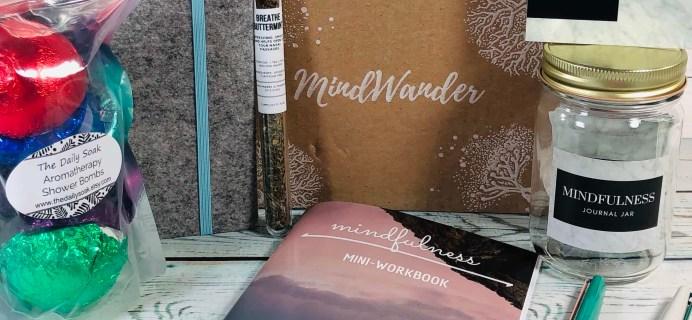 MindWander April 2019 Subscription Box Review