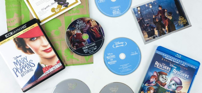 Disney Movie Club April 2019 Review + Coupon!