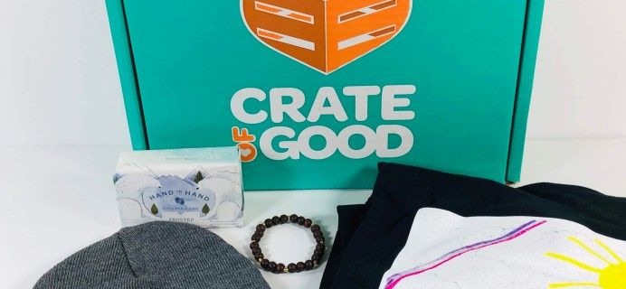 Crate of Good Spring 2019 Subscription Box Review + Coupon!
