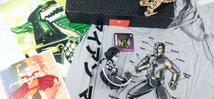 Loot Crate DX February 2019 Subscription Box Review & Coupon