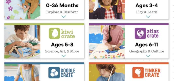 KiwiCo Fourth of July Sale: 50% Off First Box!