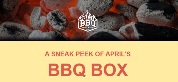 BBQ Box April 2019 Spoilers + Coupon!