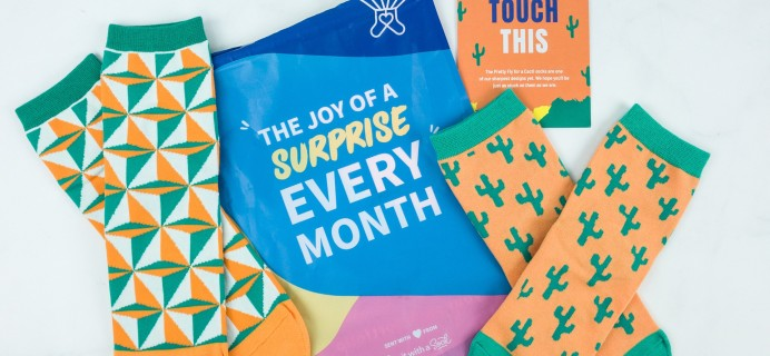 Say It With A Sock May 2019 Kids Sockscription Review & Coupon
