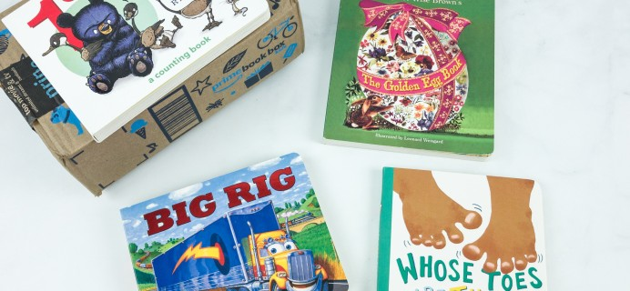 Amazon Book Box Kids April 2019 Review – Baby to 2 Years