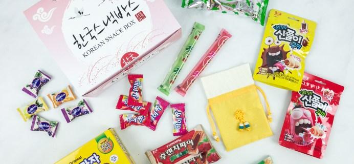 Korean Snack Box May 2019 Subscription Box Review + Coupon