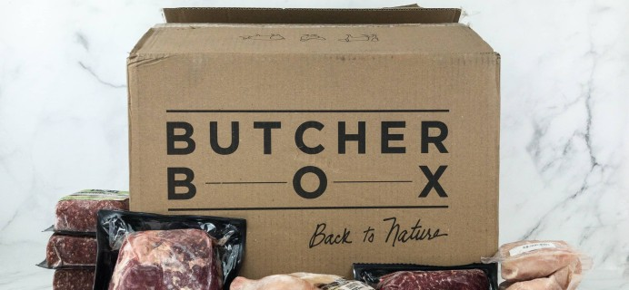 Butcher Box April 2019 Subscription Box Review + Coupon – Beef & Chicken Box!