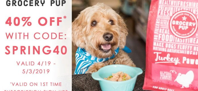 Grocery Pup Coupon: Get 40% Off & More!