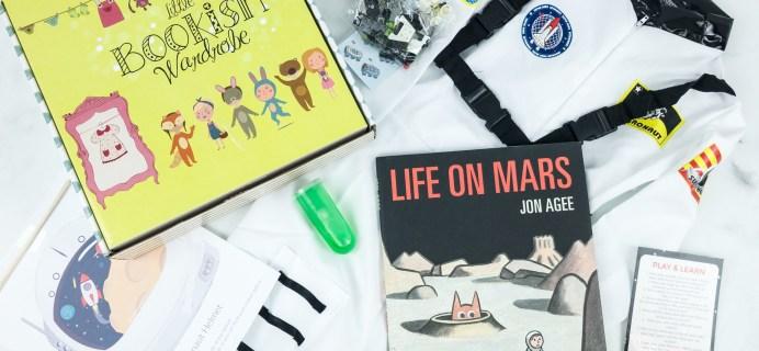 Little Bookish Wardrobe April 2019 Subscription Box Review + Coupon
