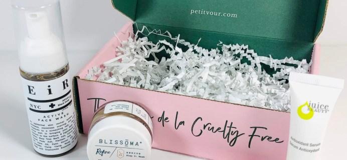 Petit Vour April 2019 Subscription Box Review & Coupon
