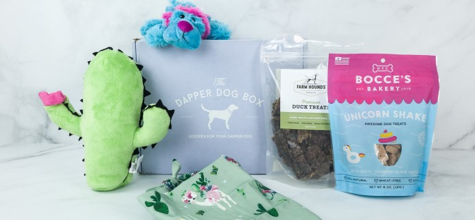 The Dapper Dog Box April 2019 Subscription Box Review + Coupon