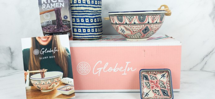 GlobeIn Artisan Box Club SLURP April 2019 Review + Coupon