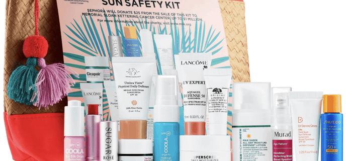 Sephora Sun Safety Kit 2019 Available Now!