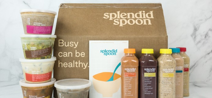 Splendid Spoon Subscription Box Review + Coupon – SOUPS & SMOOTHIES BOX