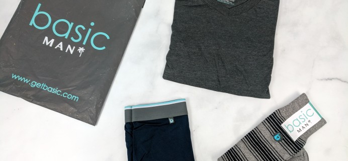 Basic MAN Subscription Box April 2019 Review + Buy One Get One FREE Coupon