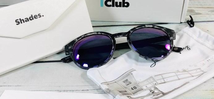 Shades Club April 2019 Subscription Box Review + Coupon