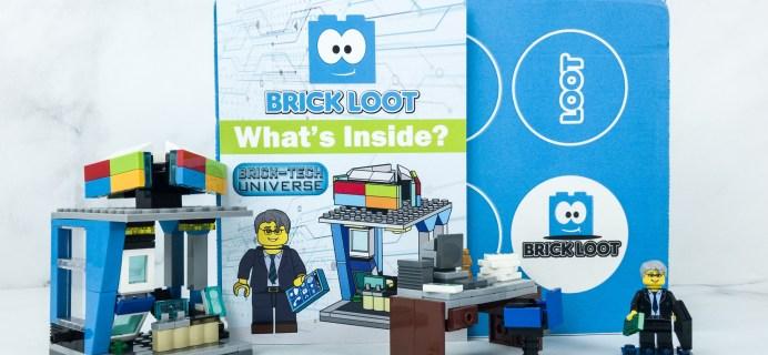 Brick Loot April 2019 Subscription Box Review & Coupon