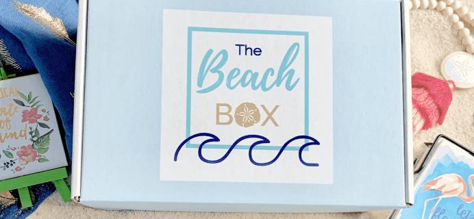 The Beach Box December 2019 Full Spoilers!