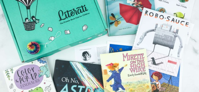Literati Kids Club Nova Box Review + Coupon – April 2019