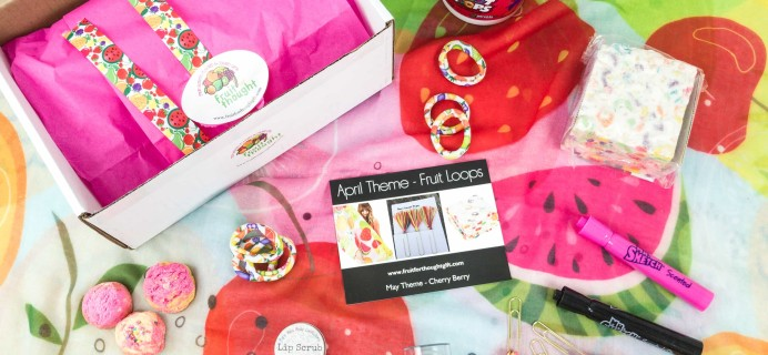 Fruit For Thought April 2019 Subscription Box Review & Coupon