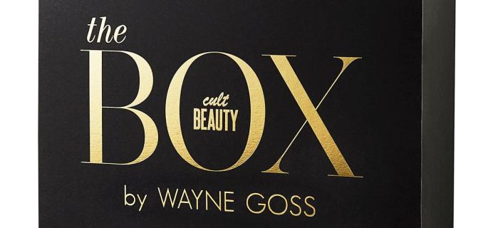2019 Cult Beauty x Wayne Goss Box Available Now + Full Spoilers!