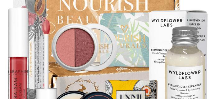 Nourish Beauty Box May 2019 Full Spoilers + Coupon!
