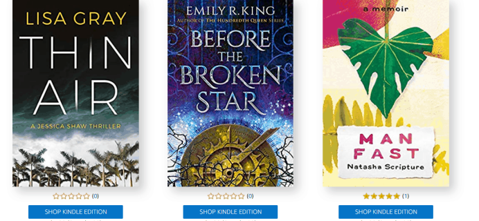 Amazon First ReadsJuly 2019 Selections: 1 Book Free for Amazon Prime Members