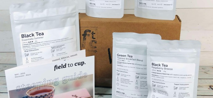 Field To Cup May 2019 Discoverer Black Subscription Box Review + Coupon