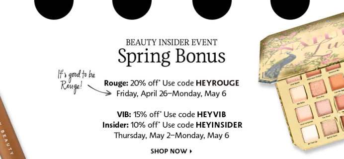 Sephora Spring Sale: Get Up To 20% Off!