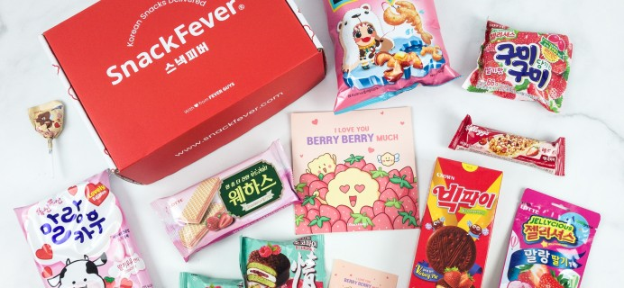 April 2019 Snack Fever Subscription Box Review + Coupon – Original Box!