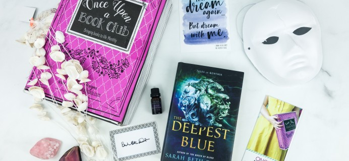 Once Upon a Book Club April 2019 Subscription Box Review + Coupon – Adult Box