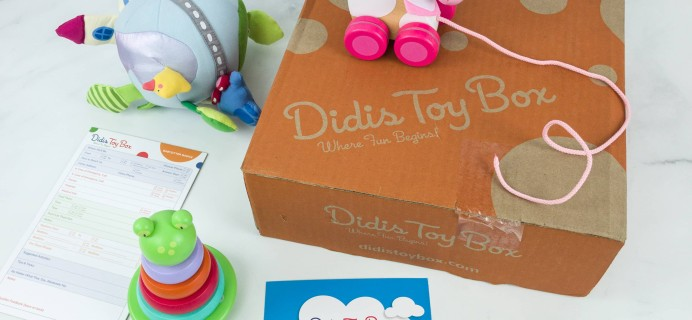Didis Toy Box May 2019 Subscription Box Review & Coupon