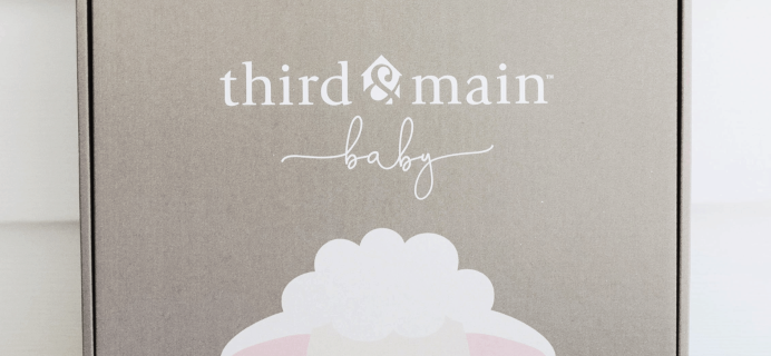 Third & Main Baby Box Available Now + Coupon!