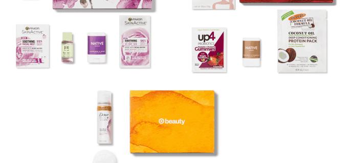 Target Beauty Box Price Drop! April & May 2019 Boxes $5!