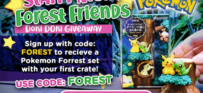 Doki Doki Coupon: Get FREE Pokemon Forest Set!