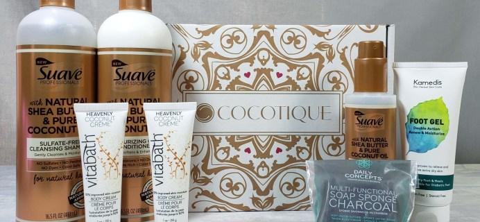 COCOTIQUE Subscription Box Review + Coupon! – March 2019