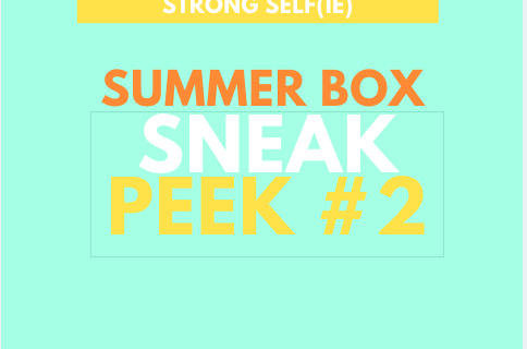 STRONG selfie Box Summer 2019 Spoiler #2 + Coupon!