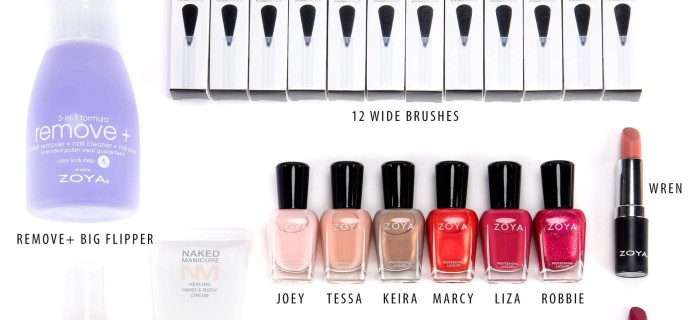 Zoya Barefoot Summer 2019 Box Available Now!