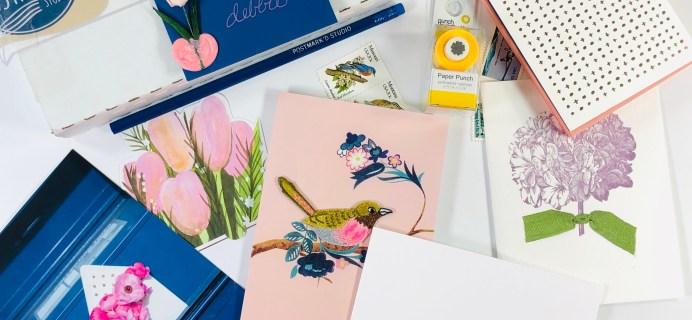 PostBox Subscription Box Review + Coupon – May 2019
