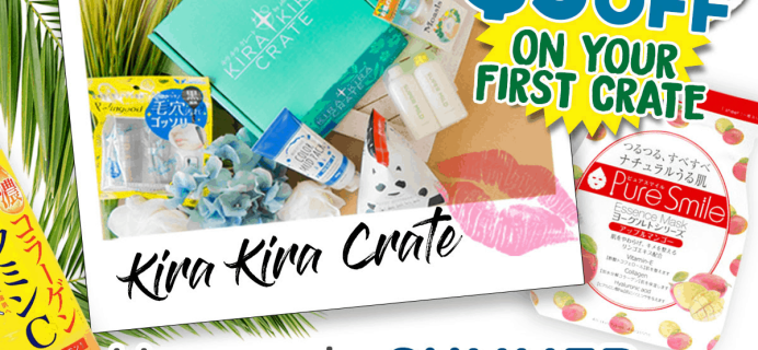 Kira Kira Crate Summer Sale: Get $5 Off Your First Crate!