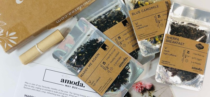 Amoda Tea May 2019 Subscription Box Review + Coupon!