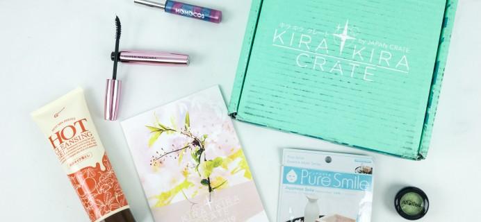 Kira Kira Crate April 2019 Subscription Box Review + Coupon