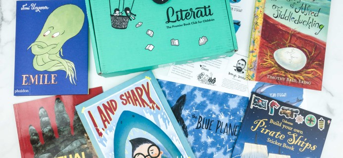 Literati Kids Club Nova Box Review + Coupon – May 2019