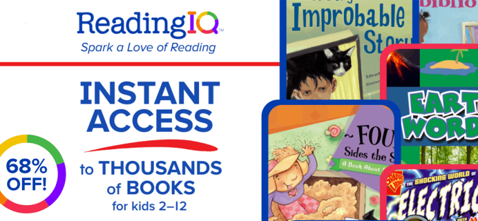 ReadingIQ Coupon: Get an Annual Subscription For Just $29.99!