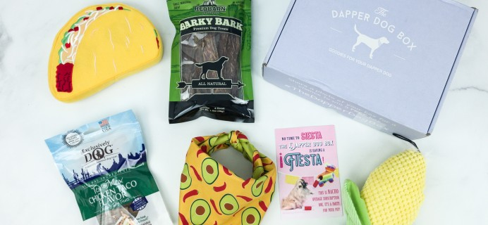 The Dapper Dog Box May 2019 Subscription Box Review + Coupon