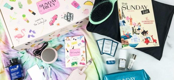 Sunday Riley Box Summer 2019 Review + Coupon – TRAVEL BOX