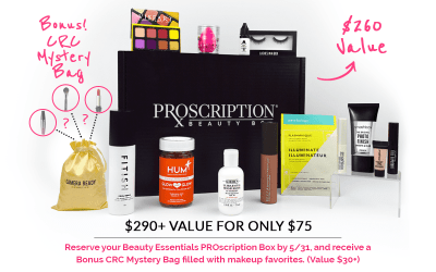 Newest Subscription Boxes: PROscription Beauty Box Available Now + Full Spoilers + Coupon!