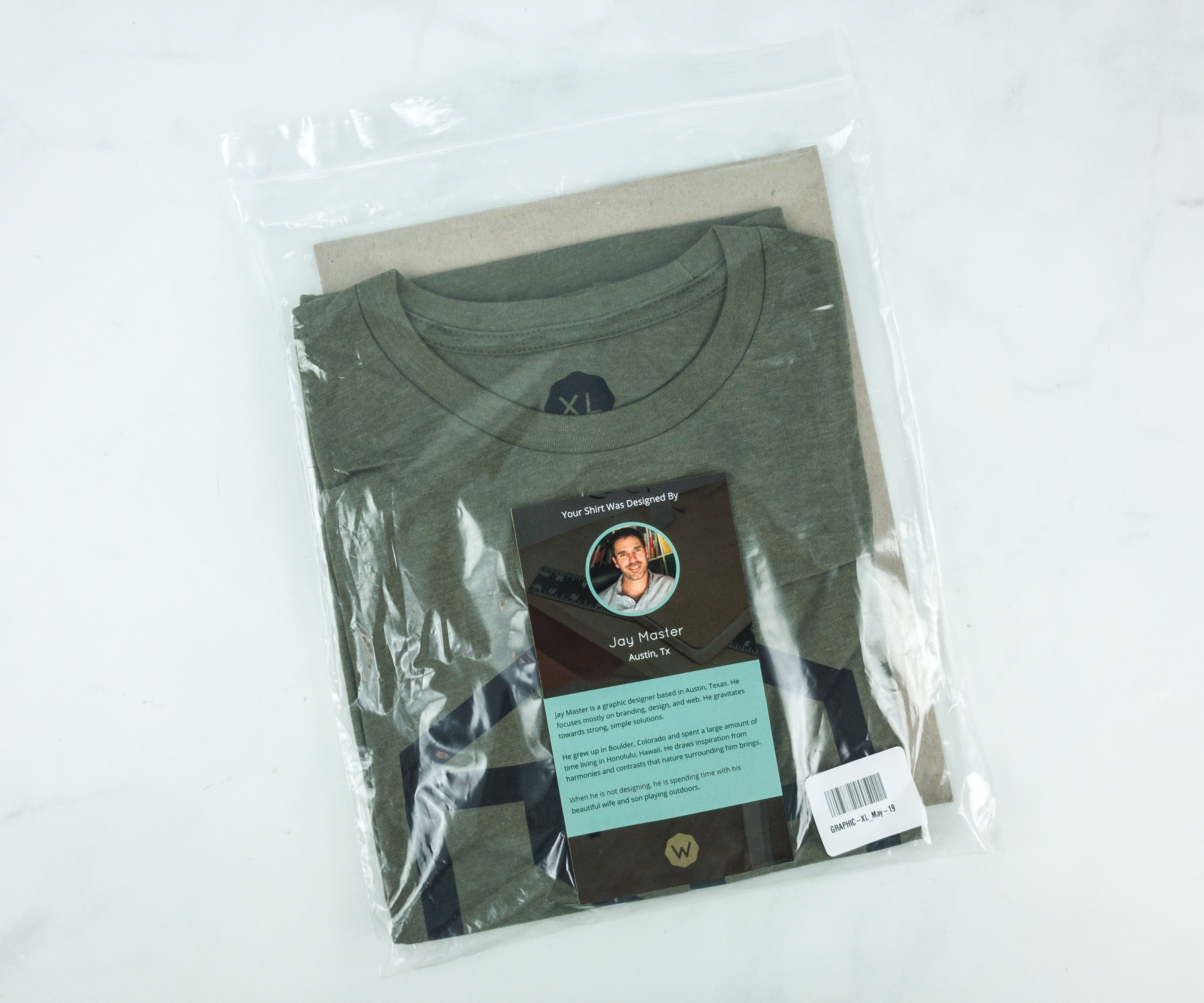 Wohven T Shirt Subscription Review May 2019 Hello Subscription