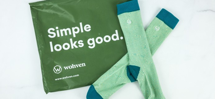 Wohven Socks Subscription May 2019 Review + Coupon!