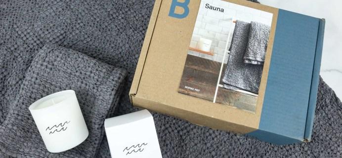 Bespoke Post SAUNA Box Review & Coupon – May 2019